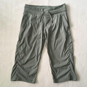 Lululemon Green Crop Studio Pants